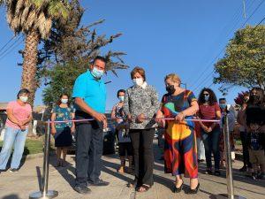 """Vecinos de """"Villa Sopraval"""" inauguraron la pavimentación completa de su sector"""